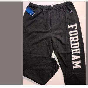 Fordham University Sweatpants Mens XL Champion E